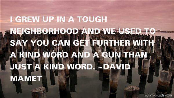 David Mamet Quotes