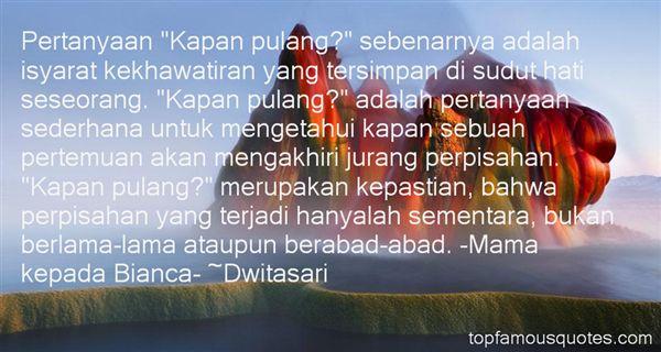 Dwitasari Quotes