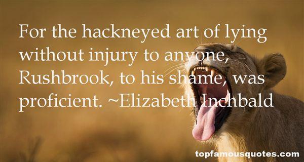Elizabeth Inchbald Quotes