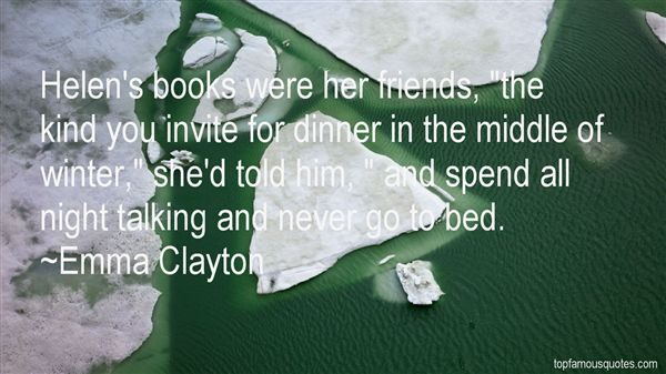 Emma Clayton Quotes