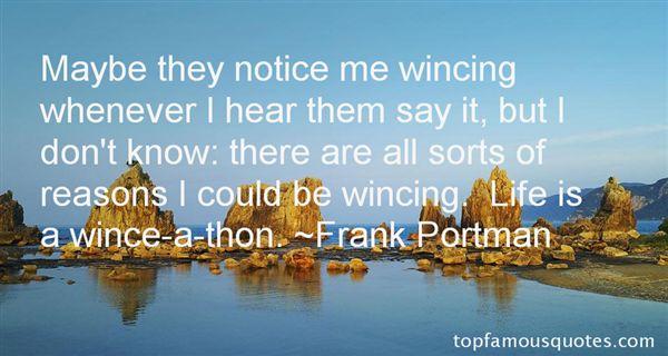 Frank Portman Quotes