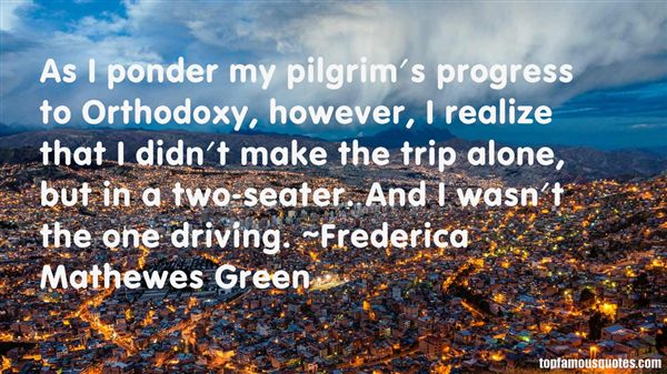 Frederica Mathewes Green Quotes