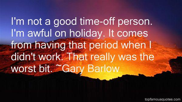 Gary Barlow Quotes