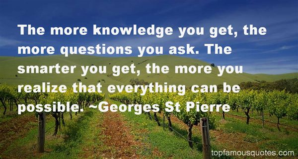 Georges St Pierre Quotes