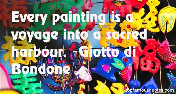 Giotto Di Bondone Quotes