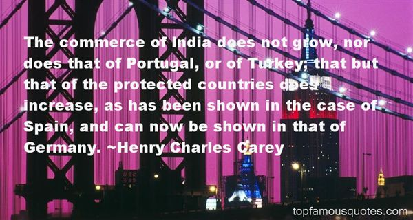 Henry Charles Carey Quotes