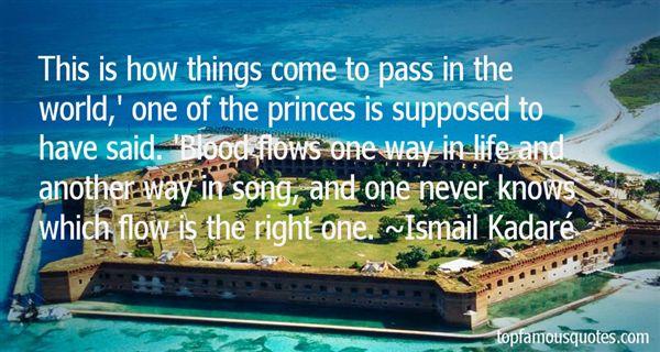 Ismail Kadaré Quotes