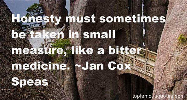 Jan Cox Speas Quotes
