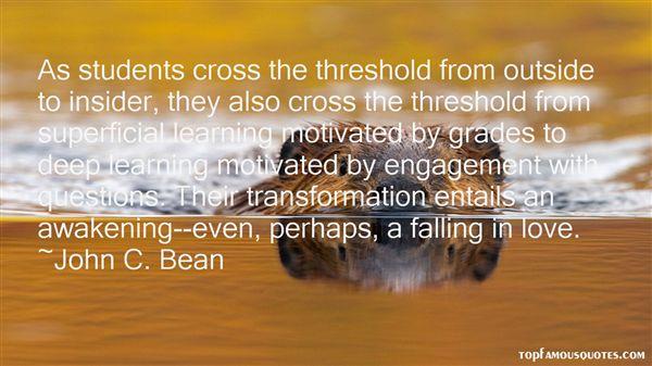 John C. Bean Quotes