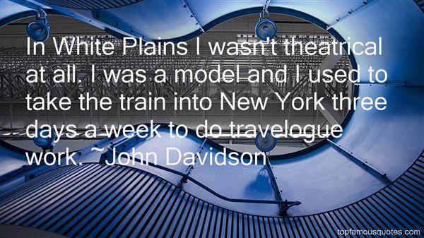 John Davidson Quotes