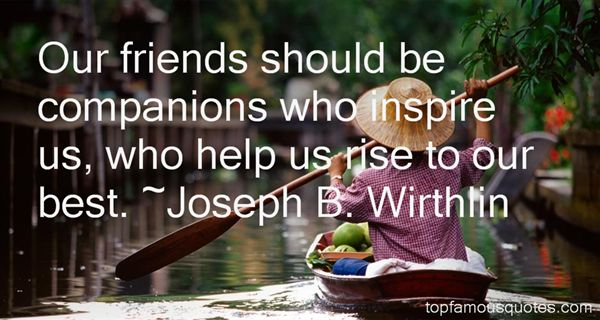 Joseph B. Wirthlin Quotes