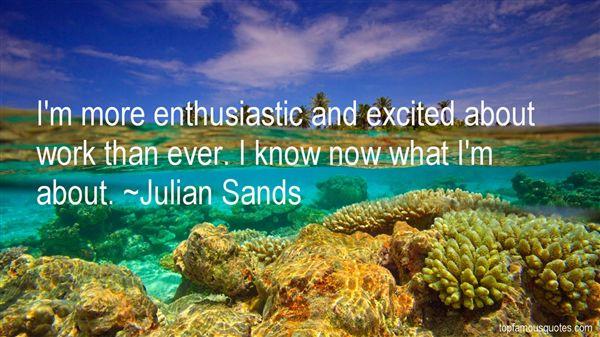 Julian Sands Quotes