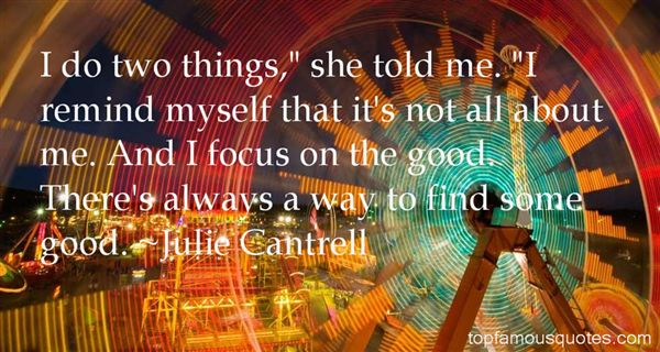 Julie Cantrell Quotes