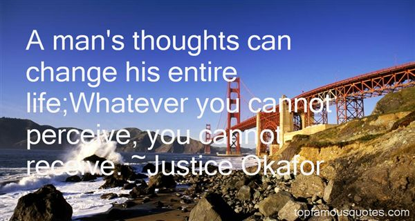 Justice Okafor Quotes