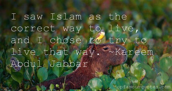 Kareem Abdul Jabbar Quotes