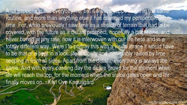 Karl Ove Knausgård Quotes