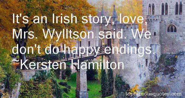 Kersten Hamilton Quotes
