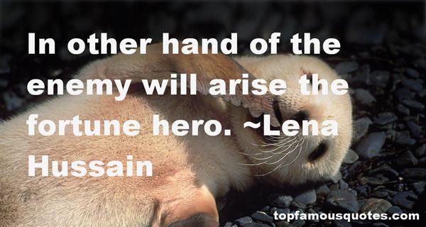 Lena Hussain Quotes