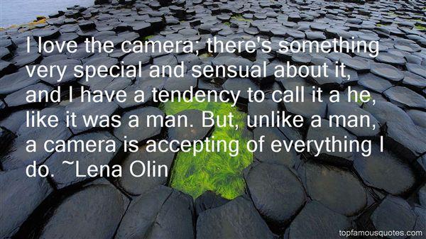 Lena Olin Quotes