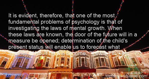 Lewis Terman Quotes