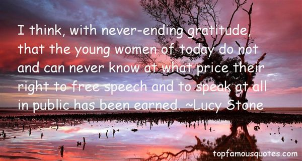 Stone Elevation Quotes : Lucy stone quotes top famous and sayings by