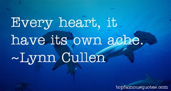 Lynn Cullen Quotes