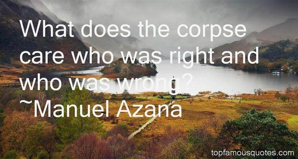 Manuel Azana Quotes
