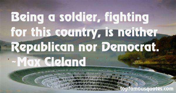 Max Cleland Quotes