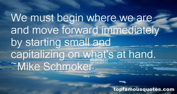 Mike Schmoker Quotes