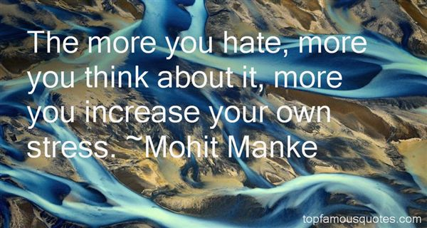 Mohit Manke Quotes