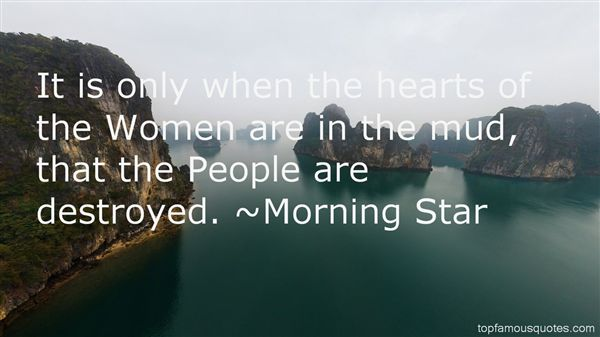 Morning Star Quotes
