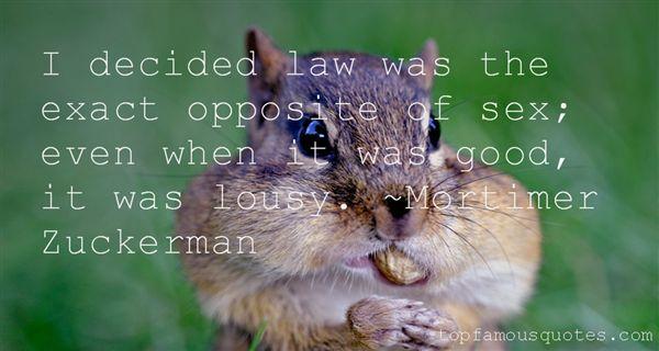 Mortimer Zuckerman Quotes