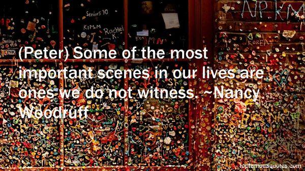 Nancy Woodruff Quotes