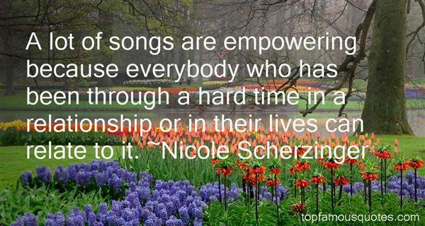 Nicole Scherzinger Quotes