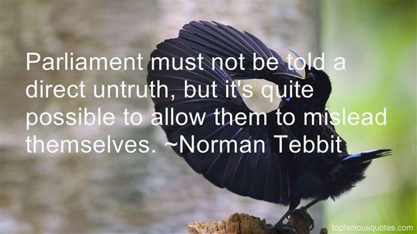 Norman Tebbit Quotes