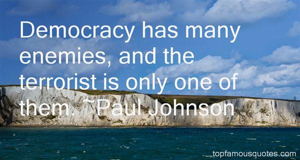 Paul Johnson Quotes