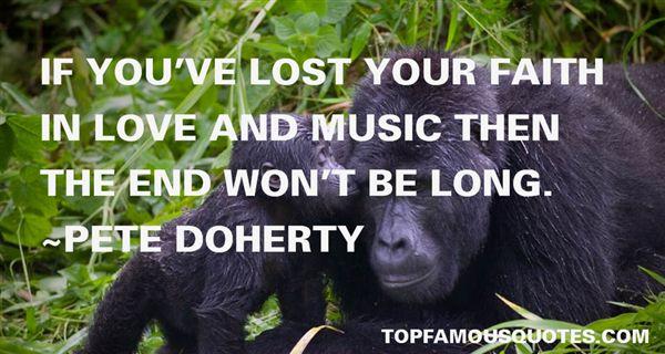 Pete Doherty Quotes