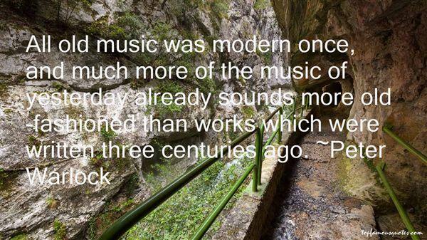 Peter Warlock Quotes