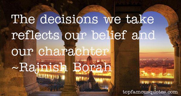 Rajnish Borah Quotes