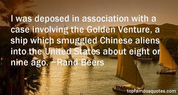 Rand Beers Quotes