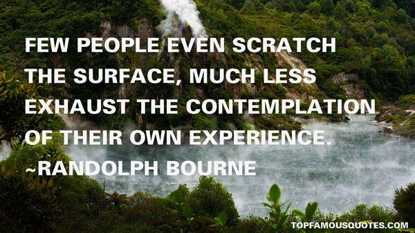 Randolph Bourne Quotes