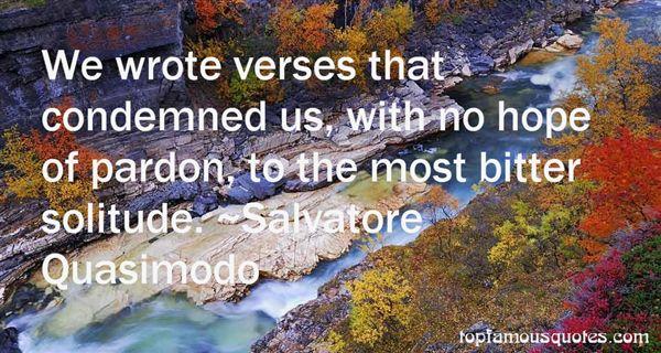 Salvatore Quasimodo Quotes
