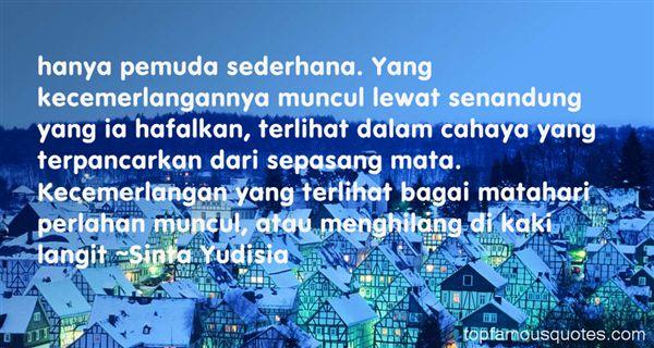 Sinta Yudisia Quotes