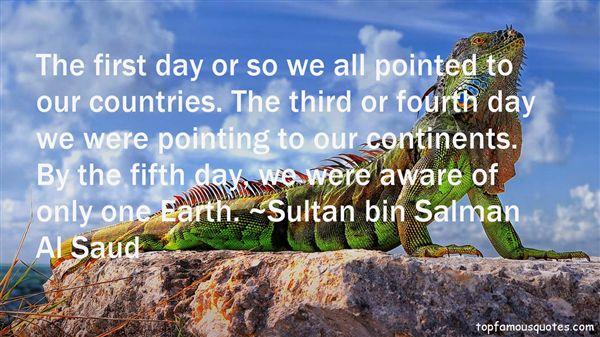 Sultan Bin Salman Al Saud Quotes