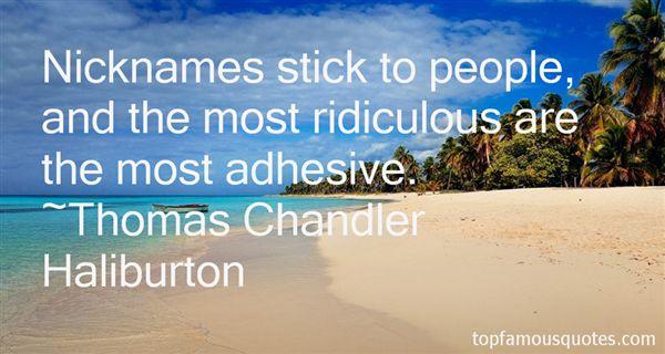 Thomas Chandler Haliburton Quotes