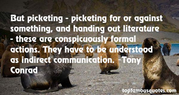Tony Conrad Quotes