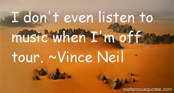 Vince Neil Quotes