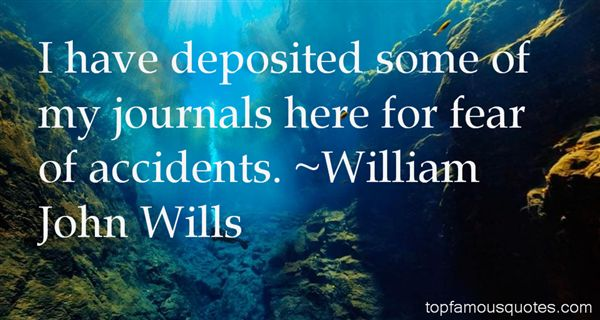William John Wills Quotes