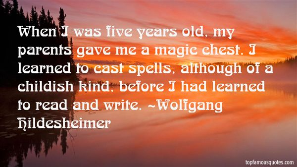 Wolfgang Hildesheimer Quotes