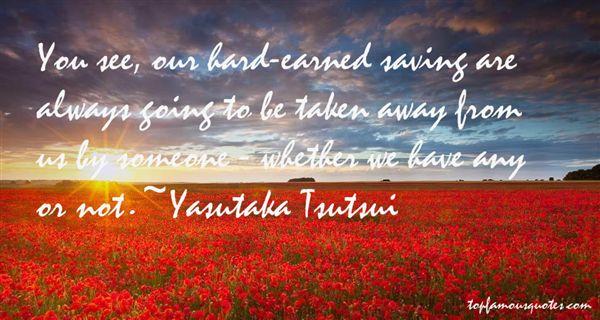 Yasutaka Tsutsui Quotes